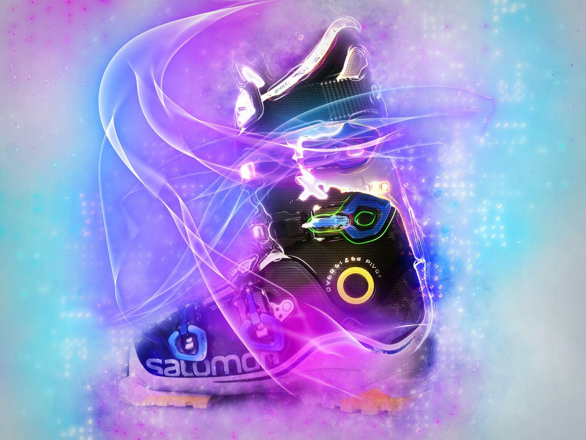 Botas de esquí Salomon con colores
