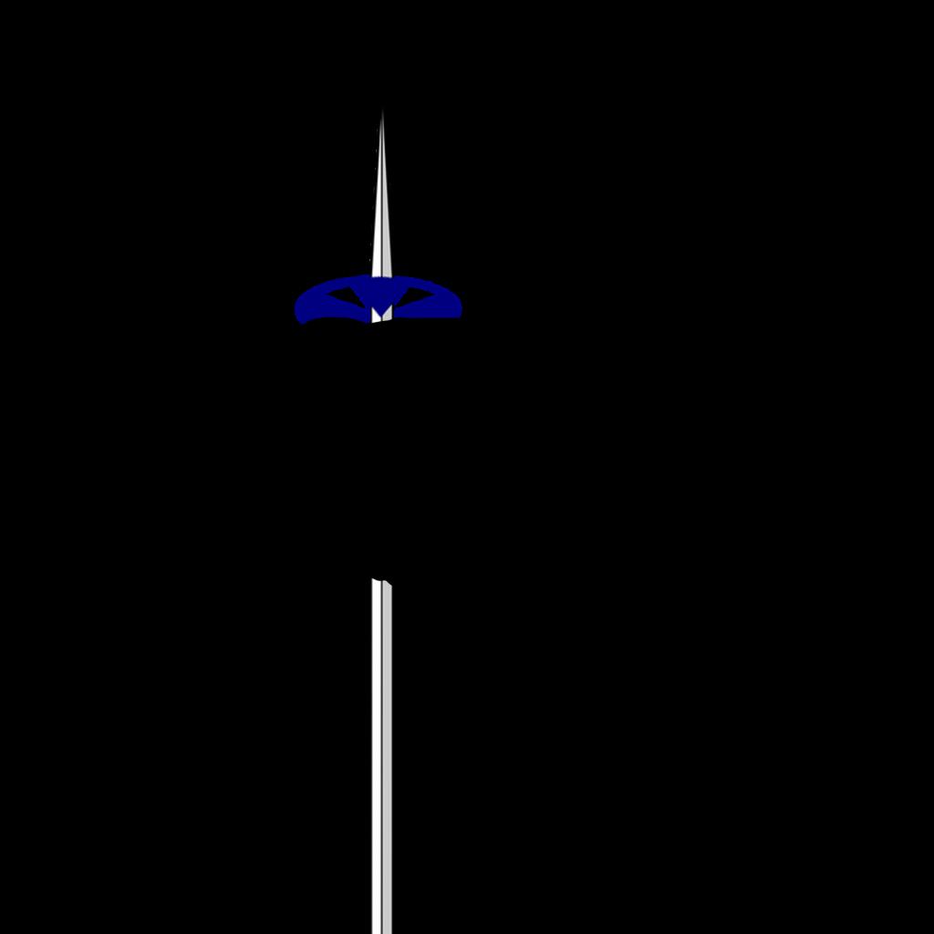 Posición de la mano sobre uno de los bastones esquí