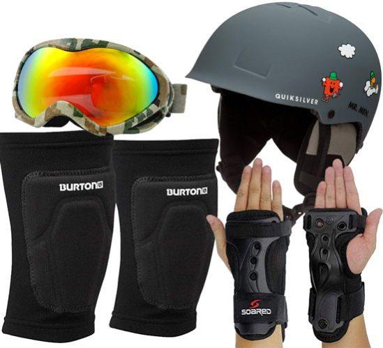 protecciones snowboard #snowboard #snowboardseguro