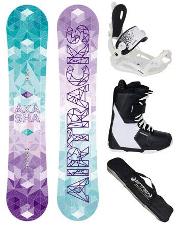 comprar pack snowboard mujer barato